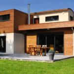 Une maison à ossature Bois